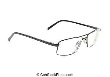 spectacles isolated on white background
