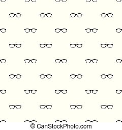 Spectacles with diopters pattern seamless vector repeat ...