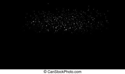 Spectacular Fireworks show, linear fireworks, multiple lines. Full HD Ver. 1