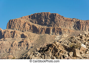 Spectacular landscape with many interesting forms of volcanic activity.