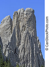 Spectacular Monolith in the Mountains - Spectacular Monolith...