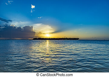 Sunset at Key West, Mallory Point - spectacular Sunset at ...
