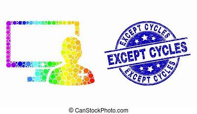 spectral, グランジ, 点を打たれた, 医者, 切手, オンラインで, を除いて, ベクトル, シール, 周期, アイコン
