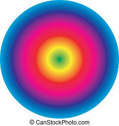 spectral, círculo, 2