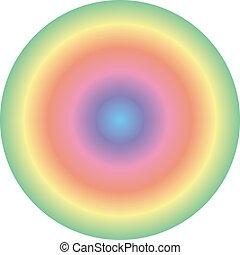 spectral, círculo, 3