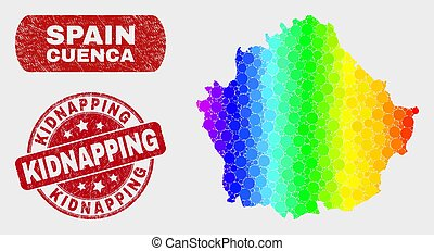 Spectral Mosaic Cuenca Province Map and Distress Kidnapping ...