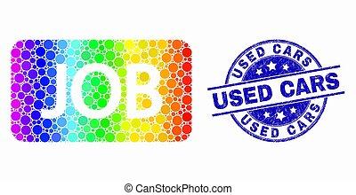 spectral, usado, angústia, watermark, carros, caption, trabalho, vetorial, pixel, ícone