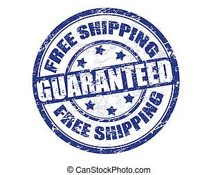 spedizione marittima, francobollo, libero
