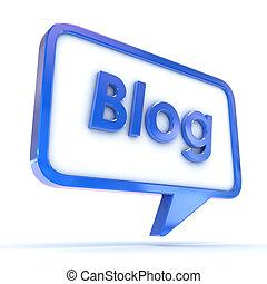 Speech Bubble Blog