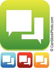 Speech Bubble Chat Icons      Speech Bubble Chat Icons