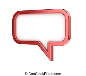 speech bubble - conversation chat t
