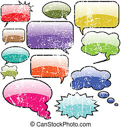 Speech bubble design