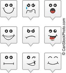 Speech Bubble Faces