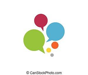 Speech bubble icon  vector illustration