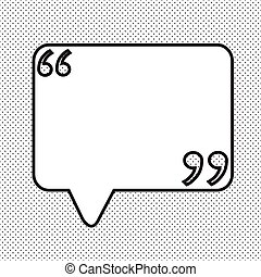 speech bubble illustration design