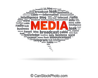Speech Bubble - Media