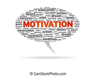 Speech Bubble - Motivation