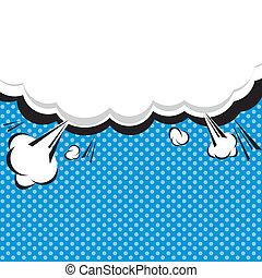 Speech Bubble Pop-Art Style. - Comic Speech Bubble, Cartoon...