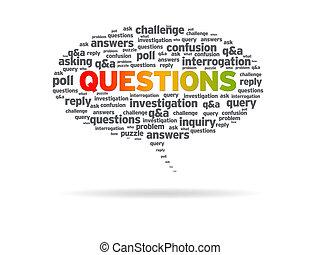 Speech Bubble - Questions