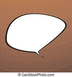 Speech Bubble , Retro Background