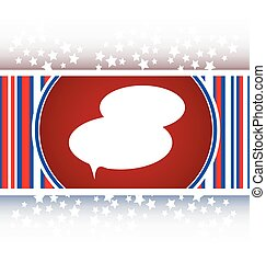 speech bubble web app button icon vector