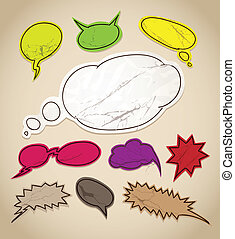 speech bubbles clip-art