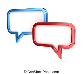 speech bubbles - conversation chat