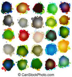 Speech bubbles. Original illustration. EPS 10