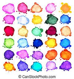 Speech bubbles. Original illustration. EPS 8