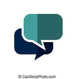 speech buble isolated icon vector illustration design