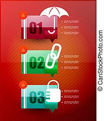 Speech cloud infographic template - Speech cloud infographic...