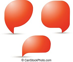 speech, talk bubbles, communication, discussion, chatting. Vector