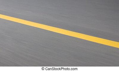 speed background %u2013 asphalt road