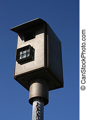 Speed camera in Queensland, Australia. Traffic regulations...