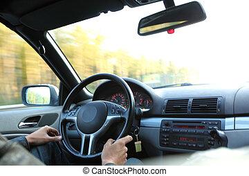 car drive