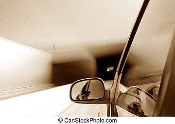 speed drive blurred transportation background