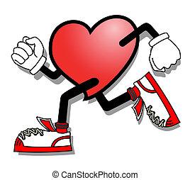 Speed heart - Creative design of speed heart