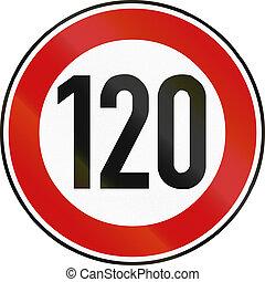 Speed Limit 120