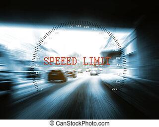 speed limit on highway