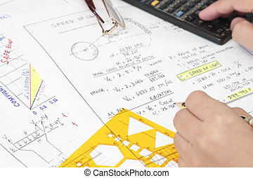 Speed of light derrivation equation and formulas