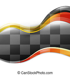 Speed Race Wave Car Background - A speed race car background...