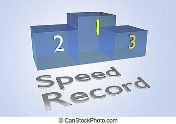 Speed Record concept