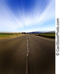 Speed road