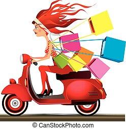 Speed shopping
