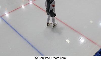 speed skating individual start - speed skating fast...