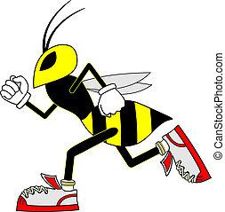 Speed wasp - Creative design of speed wasp