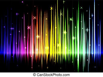 speed wave rainbow abstract background