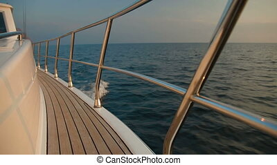 Speedboat Deck