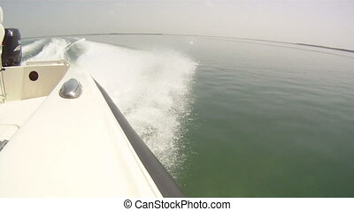 Speedboat Point of View - speed boat pov