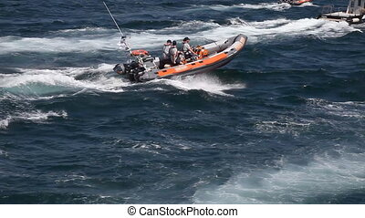 speedboat, shoot Canon 5D Mark II